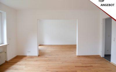 Erdgeschoss-Wohnung hochwertig umgebaut